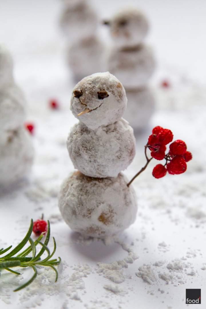 Truflowe bałwanki z białej czekolady – Idealny prezent na Mikołajki!
