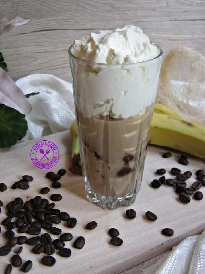 Kawowo – bananowy deser
