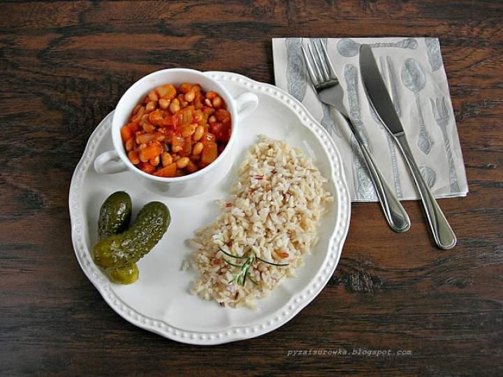 Potrawka z soi (wegetariańska)