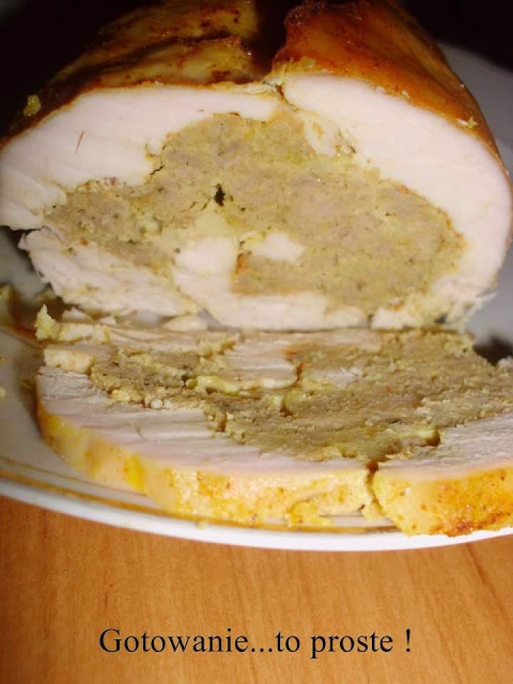 Rolada z piersi kurczaka do chleba