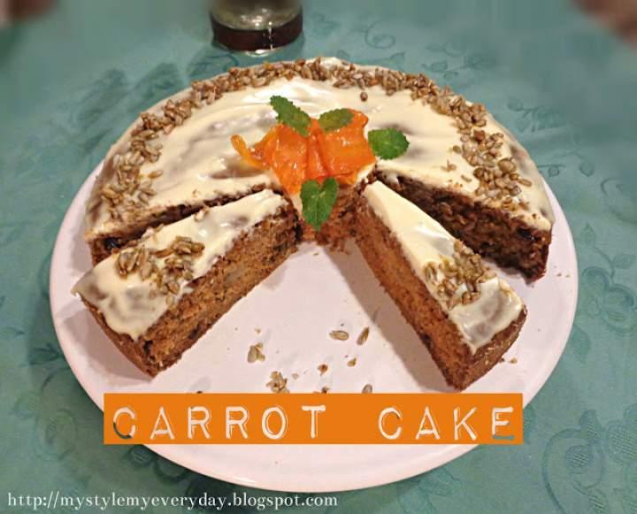 Doskonałe ciasto marchewkowe – Carrot Cake