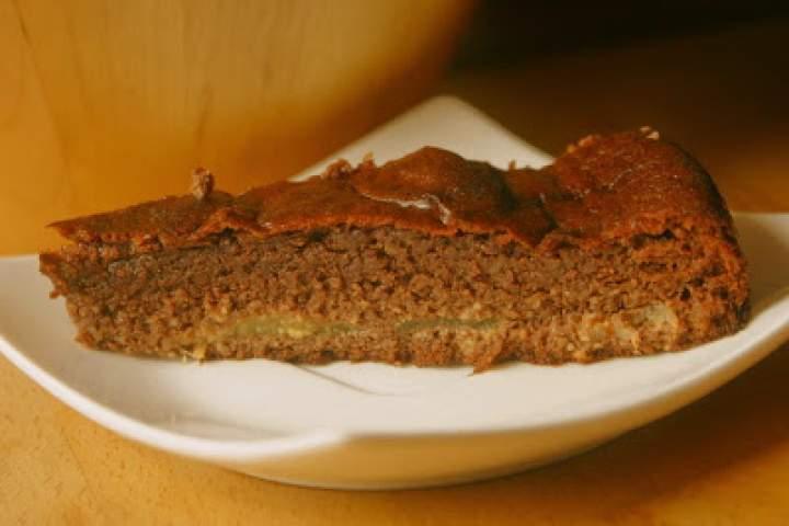 Czekoladowe ciasto z gruszkami. Rozpływa się w ustach!