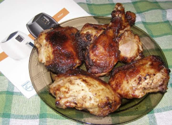 pyszne porcje kurczaka prawie bez tłuszczu:Airfryer hd9240/30