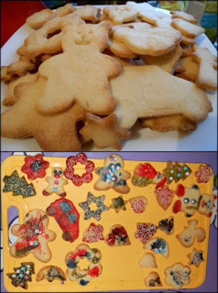 Kruche ciasteczka (dla Świętego Mikołaja)