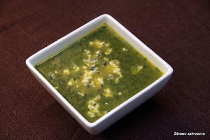 Zupa szpinakowa z curry i kokosem. Tylko tyle. I aż tyle