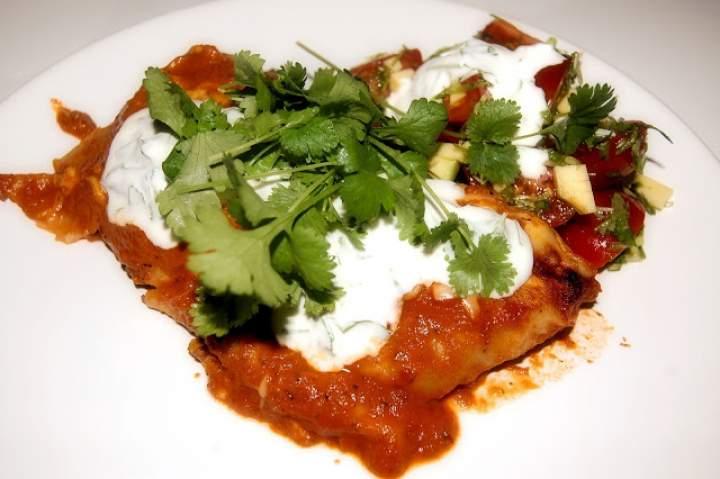 Meksykańskie enchiladas