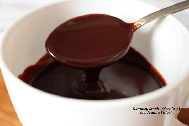 aksamitna polewa czekoladowa na ciasta