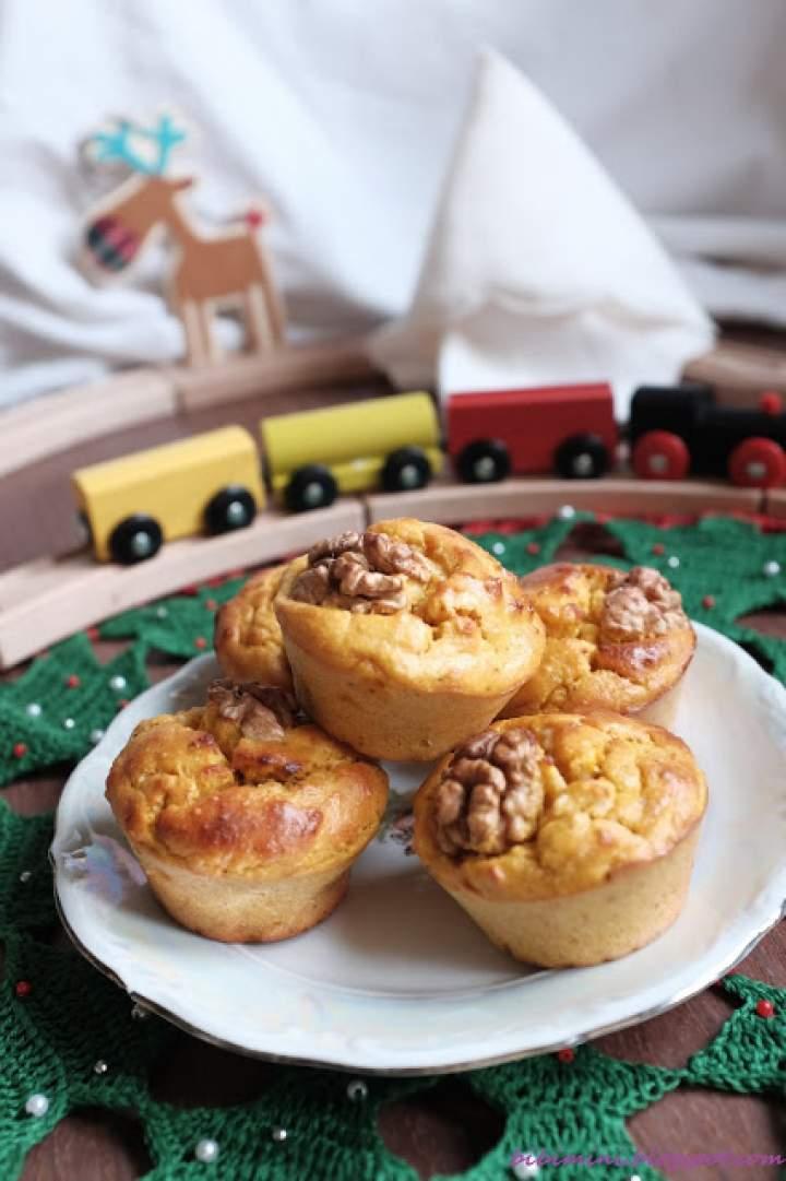 Najlepsze muffiny dyniowe paleo