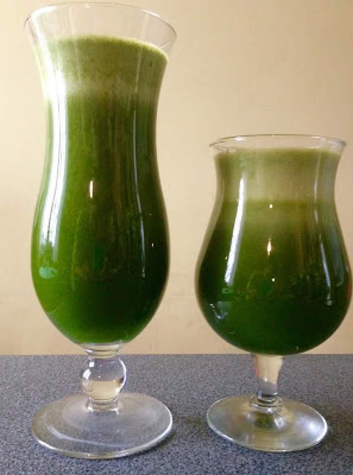 Zdrowy sok z jarmużem
