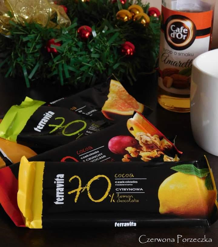 Czekolada Terravita 70% kakao- słodki test ;)