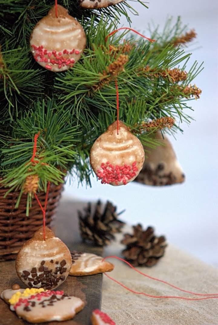 Świąteczne pierniczki na choinkę i prezenty