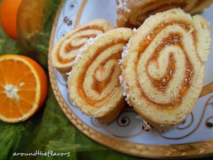 Rolada pomarańczowa