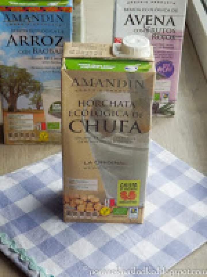 Ekologiczne napoje roślinne i kremy Amandin!