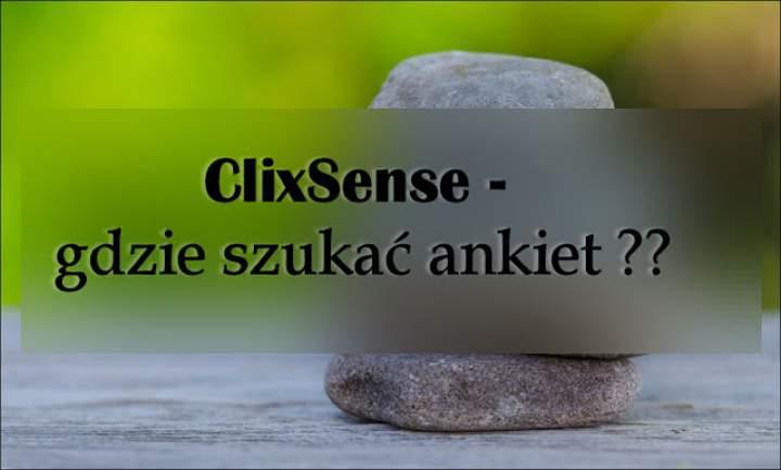 Damy radę ….: ClixSense – gdzie szukać ankiet ??