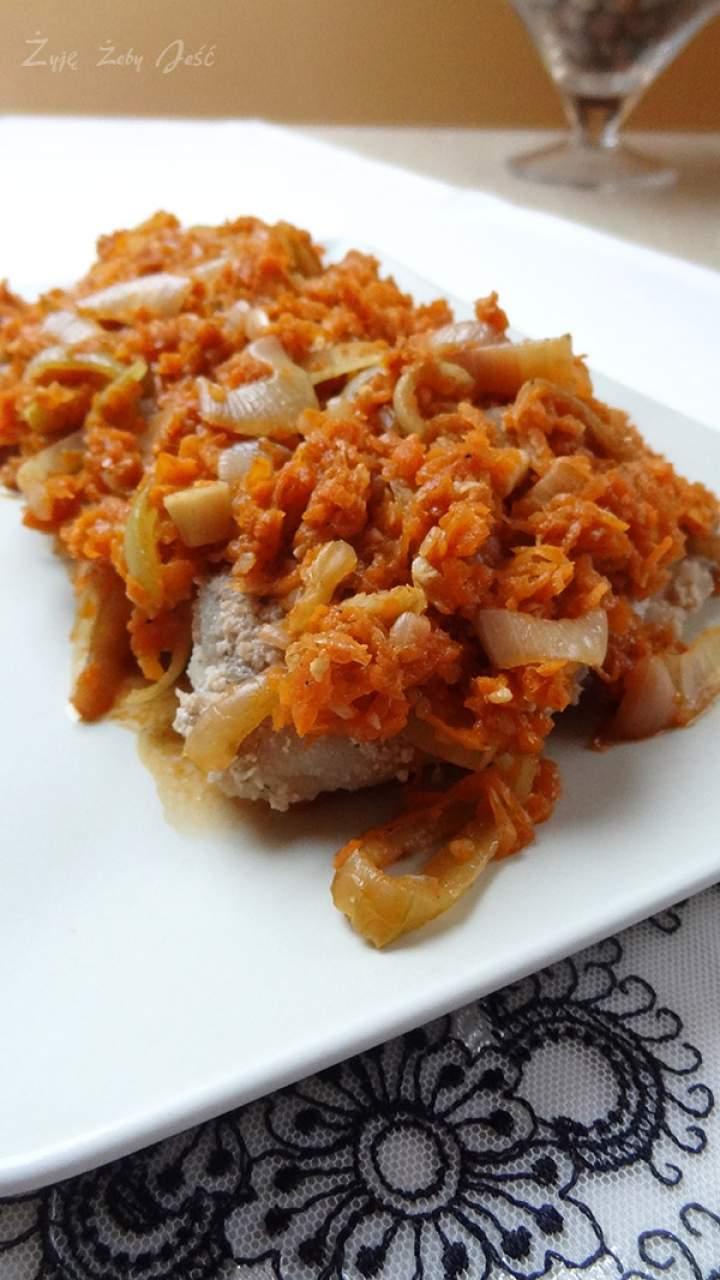 Ryba po grecku w panierce z pestek słonecznika