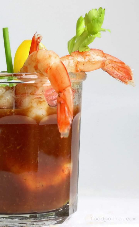 Bloody Mary  + Krewetki = Shrimp Cocktail idealny na świąteczne przyjęcie lub kaca