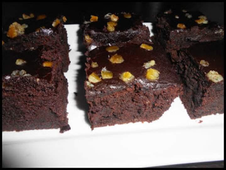 Imbirowe Bronies z czekoladowym lukrem