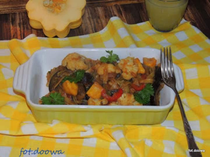 Smażone warzywa z makaronem