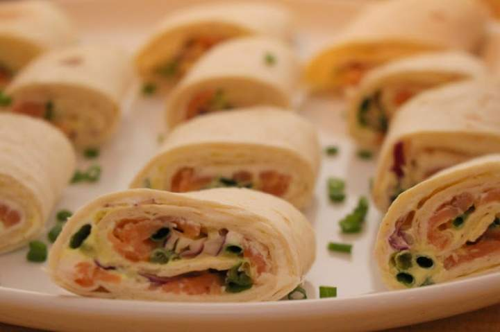 Kanapeczki z tortilli