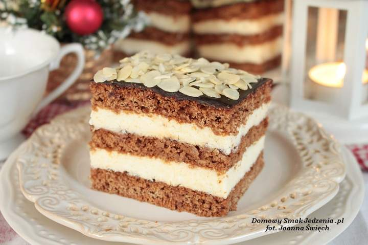 miodownik świąteczny vel ciasto czeskie