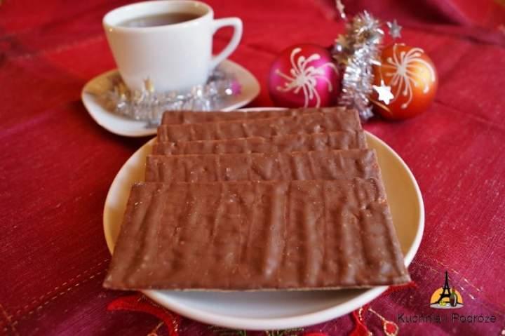 Pieczywo piernikowe z czekoladą