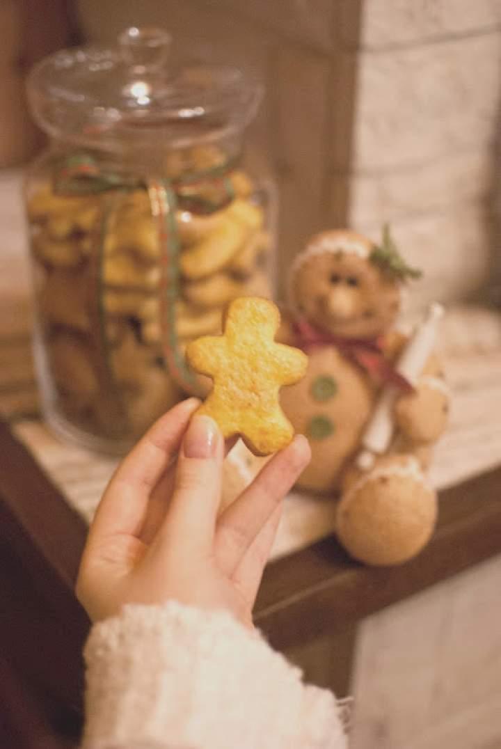 """""""Maślane"""" ciasteczka korzenne"""