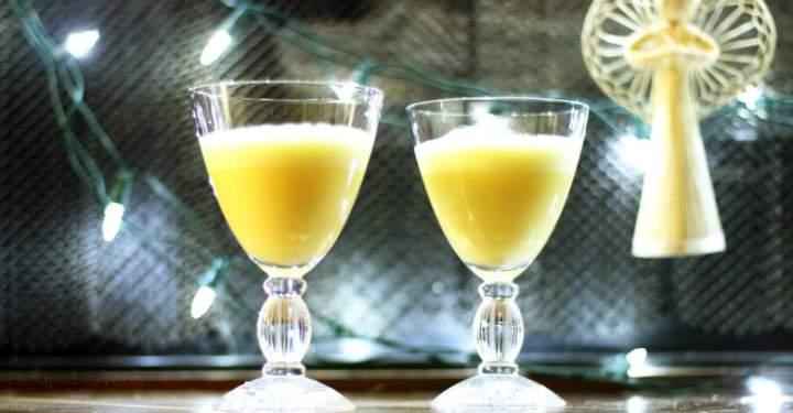 Holiday Eggnog Martini just like grandma used to make