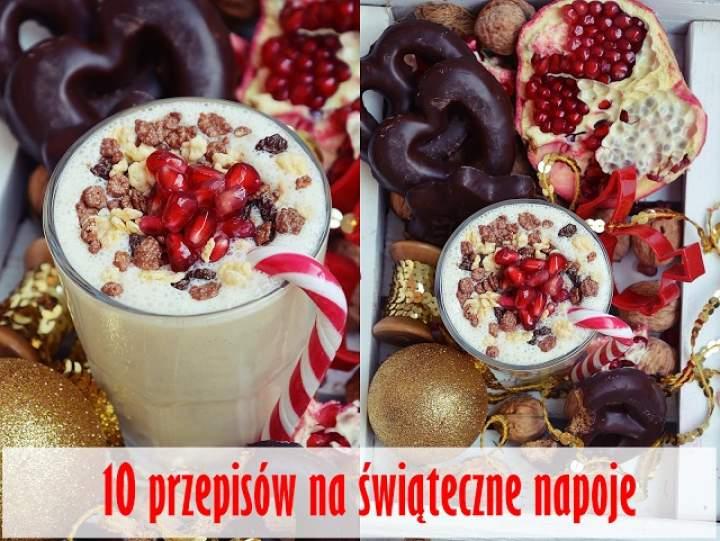 10 pomysłów na świąteczne napoje