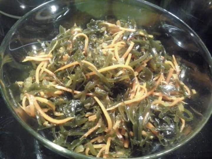 Sałatka z alg morskich