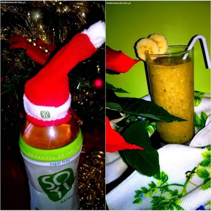 Nagroda od SOTI w świątecznej odsłonie. I zdrowe smoothie idealne po świątecznych potrawach.