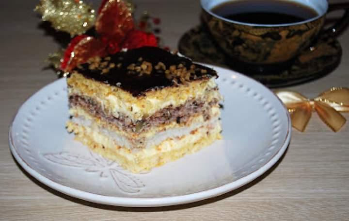 Snikers ciasto s. Anastazji