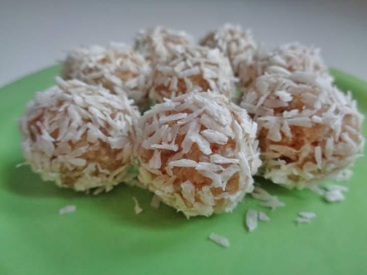 Pralinki kokosowo-migdałowe