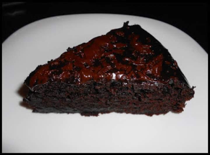 Ciasto czekoladowo buraczane