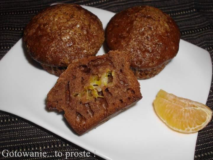 Babeczki czekoladowo – imbirowe z mandarynkami