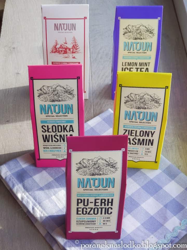 Herbaty i inne produkty od Natjun!