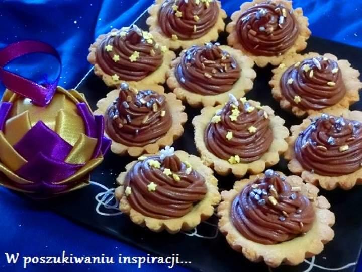 Babeczki z kremem czekoladowo-pomarańczowym