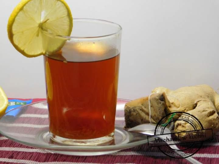 Imbirowa herbatka na imprezowe problemy żołądkowe