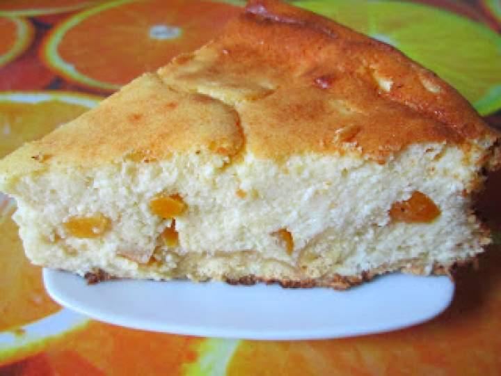 Sernik pomarańczowy z ziemniakiem