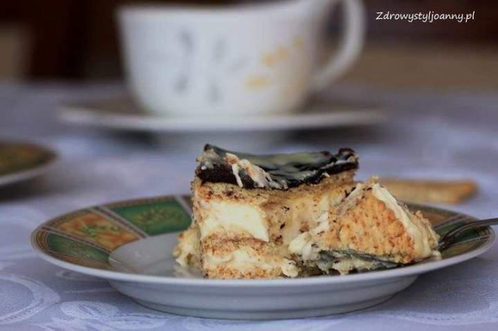 Ciasto Eclair. Ciasto bez pieczenia.