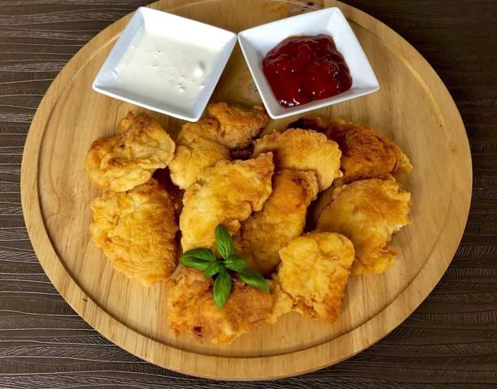 Soczyste i chrupiące nuggetsy z kurczaka
