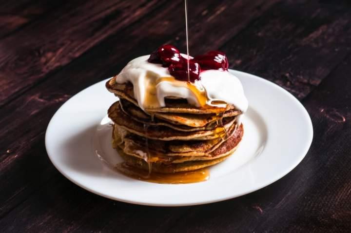 Pancakes owsiane bez cukru