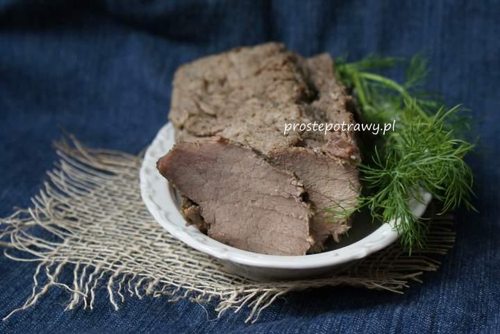 Schab gotowany- prosty przepis