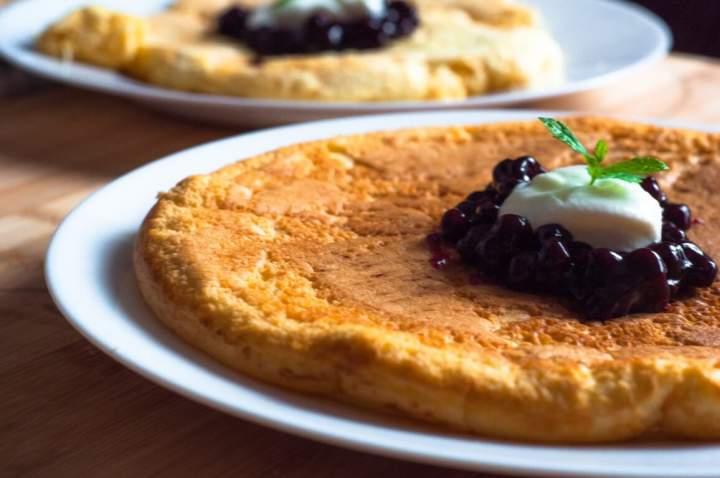 Omlet na słodko- bardzo puszysty
