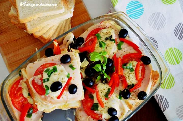 ,, Lasagne z chleba tostowego''