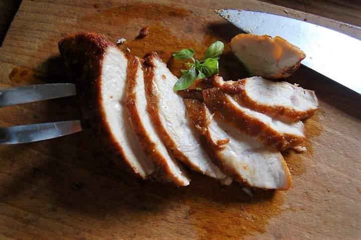 Pierś z kurczaka , szybko , prosto i smacznie