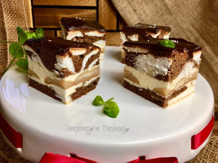Łaciata Krówka – ciasto