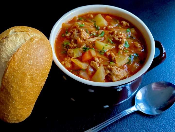 Zimowa zupa zbójnicka