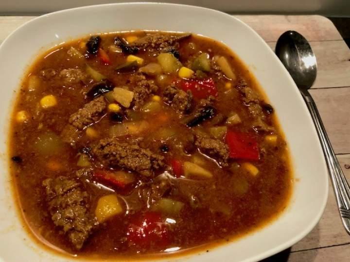 Węgierski kociołek – pożywna zupa gulaszowa :)