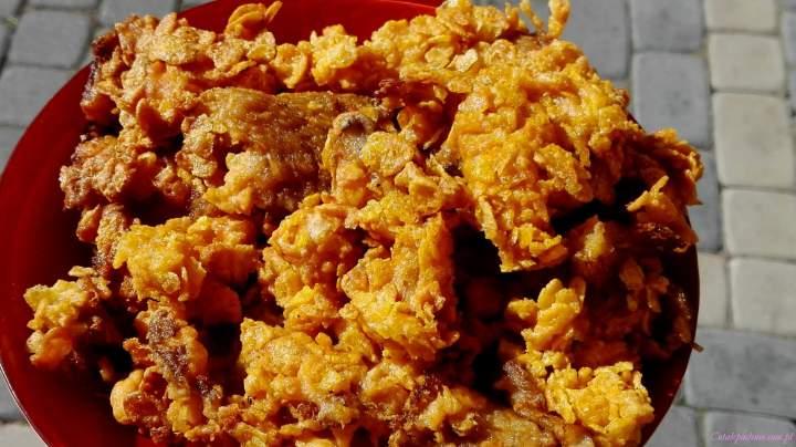 Boczniaki w panierce a'la kurczak z KFC