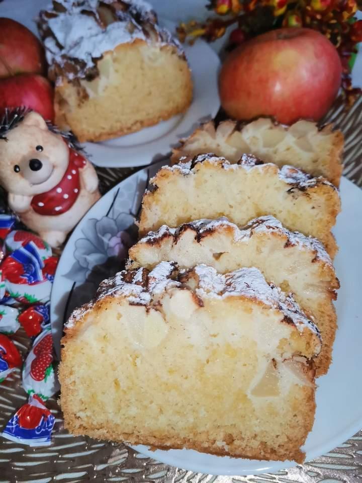 """Ciasto z jabłkami """" Dzikusek """""""
